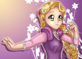 Rapunzel by Nine-Tailed-Fox