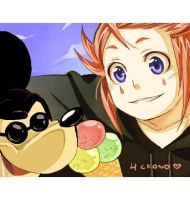 +A trip to disneyland XD+ by goku-no-baka