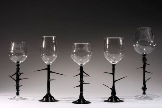 'Handable' Series Goblets- by JDilorenzo