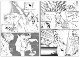 SDL Battle pages 2 and 3 by Hana-Keijou