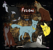 The Cast of Felidae by DoctorCritical
