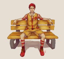 ronald mcsehun by genicecream