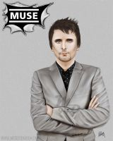 Matt Bellamy by MissOrange94