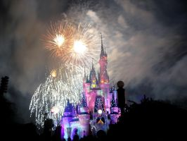 Disney Fireworks 19 by ModernMessiah-Photos