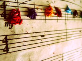 colourful music by airylovee