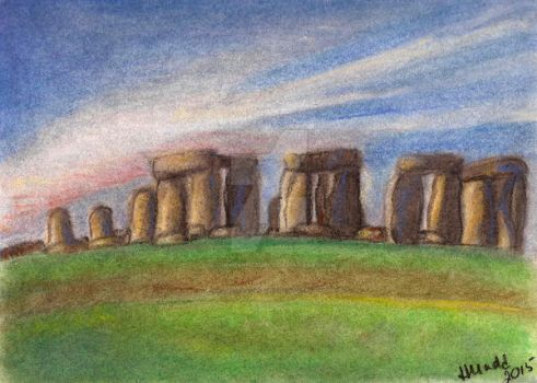 Stonehenge by quirkypaynesgrey