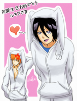 cHappy Birthday Rukia-sama by NeoRuki
