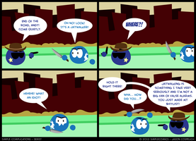SC115 - Jaywalker by simpleCOMICS