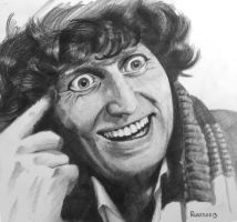 Dr Who 4 - Tom Baker by russraff