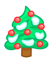 Christmas tree vector by MikariStar