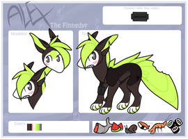 Alex ref by LoserDoge