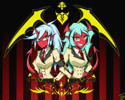 Scanty X Kneesocks by JohnyHo
