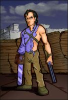 Ash from Evil Dead by ccicconi