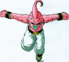 Kid Buu by android17lover