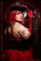 The Crimson red - Madam red by areka-san