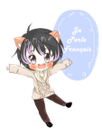 Comm: Chibi for Meowycatmeow by Commission-With-Zhar