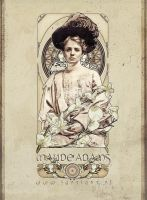 Maude Adams - Art Nouveau II by jdesigns79