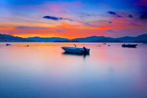 Alone with Magic Hour by johnchan