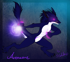 Your character of awesome - commission Avenuare by StanHoneyThief