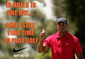 Tiger Woods: 18 holes by mexicanpryde2000