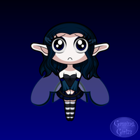 Chibi Cursed Bluebell by GamingGirl73