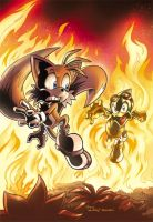 Sonic Universe 18 cover by Yardley