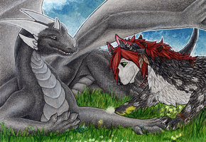 ACEO/ATC: Cuddle More by Samantha-dragon
