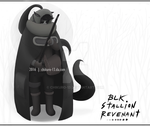 [CLOSED] BLK STALLION KEMONOMIMI ADOPTABLE by Chikuro-13