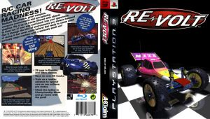 Re-Volt PS3 Boxart by MarvTheM