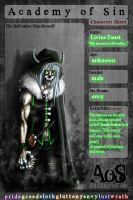 AoS: Livius Faust by NightWatcher36