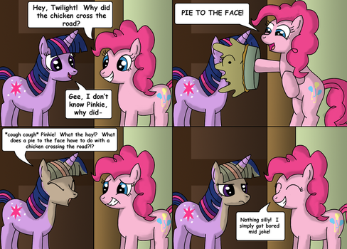 Pie to the Face by gameboysage