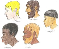 World Racial Profiles by BrandonSPilcher