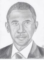 Obama Sketch by Mesymes