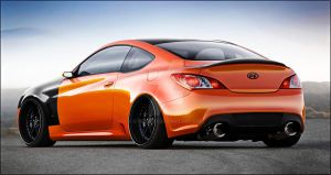 Hyndai Genesis Coupe by GTStudio