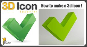 3D Icons Tutorial by saltshaker911