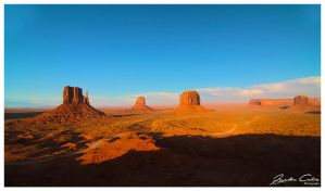Monument valley peeks by jaydoncabe