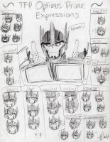 TFP Optimus Prime Expressions by MNS-Prime-21