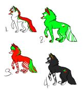 Wolf Adoptables 118 by Animal-Adoption-Club