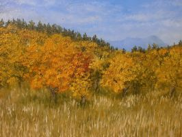 Autumn landscape by YarriK40Simf
