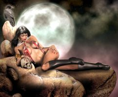 Vampirella II by Vehemel