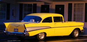 Chevy Bel Air by eskimoblueboy