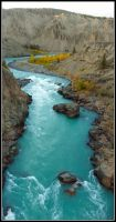 Chilcotin River by Katjakay
