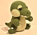 Huggy Gator by CandyBeeArts