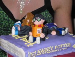 7 Harry Potter Books Cake - 3 by wotchertonks7