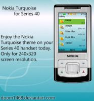 Nokia Turquoise by ChocSoldier