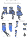 Magical Girl Outfit: Level 2 - Moon by Halowing