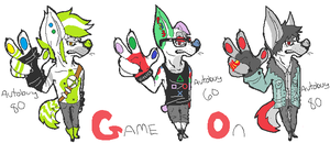 Game On adopts (LOWERED PRICES) by Late-Night-Cannibals