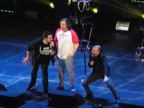 The Impractical Jokers @ the 02- 2 by perfectpureblood