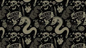 Lowbrow Tile Wallpaper by HorrorRudey