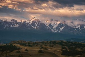 Golden Mountains by box426